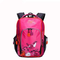 Beautiful Waterproof Fashion Design Print High-Quality Durable Large-Capacity Kids Backpack 17 Colors