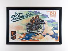 1930's Original Advertising Poster - Hampton Antiques