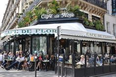 loved this cafe - one of the most popular in Paris - it's on the Champs Elysee