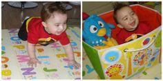 Criança feliz, é criança que brinca!! Daskom sempre com você!! #Parklon #PVC #Alphabet #Happy