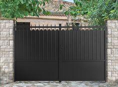 Portail, portillon, clôture aluminium - Adana - ROY