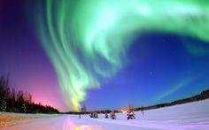 Aurore Boréale, Pôle Nord