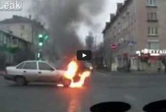 #WTF!? Can Anyone Work Out Why This Car Spontaneously Combusts?