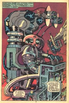 From Jack Kirby's Captain Victory