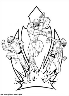 Coolest Interesting Power Rangers Coloring Pages Printable