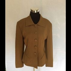 Be be Jacket size 6 Be bea size 6 with four button-down The front of the jacketn. jacket is fully lined. bebe Jackets & Coats Blazers