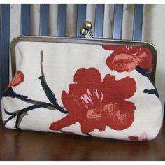 Ava Cherry Blossom Clutch