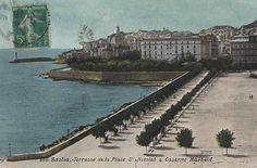 1908 La Place st Nicolas (vue de l'Hotel Cyrnos)
