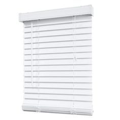 window imageu0027s faux wood blinds offer the classic style of real wood blinds with the added durability of moisture resistance