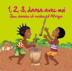 pour faire un atelier de danses et rondes d'Afrique à la maison! A partir de 3 ans. #danseafricaineenfant #disquedumondeenfant #musiqueafricaineenfant