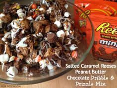 Salted Caramel Reese's Peanut Butter Chocolate Dribble & Drizzle.  You will be drooling….so good.
