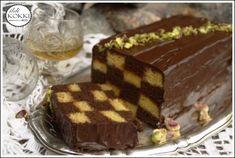 ildi KOKKI : Sakk szelet Hungarian Cuisine, Sweet Cookies, Tiramisu, Christmas Crafts, Cooking, Ethnic Recipes, Desserts, Food, Hungary