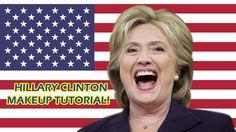 HILLARY CLINTON MAKEUP TUTORIAL | Halloween Hillary Clinton Makeup Meme