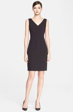 ESCADA 'Desmana' V-Neck Sheath Dress available at #Nordstrom