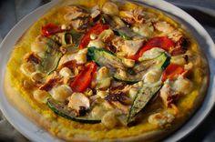 Tuulikummun keittiössä: ERILAINEN PIZZA (tomaattiallergiselle sopiva)