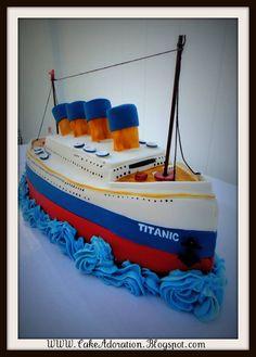 Titanic Cake by Cake Adoration