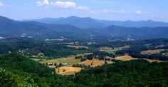 Intriguing neighborhoods near Asheville North Carolina