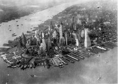 Vintage Photo of Lower Manhattan! Amazing #NYC #Vintage #newyorkcity pic.twitter.com/rfzuildosH