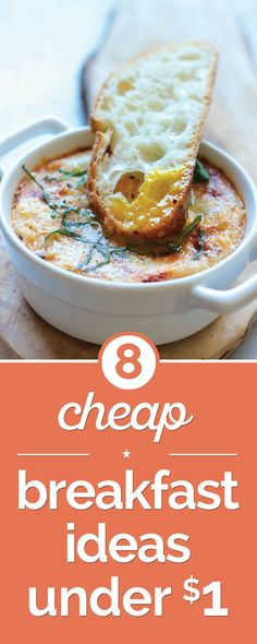 Jump start your day with a yummy breakfast! These ideas are both delicious and budget-friendly.