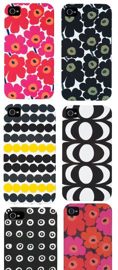 Oh Marimekko — our prints charming has come to our iPhone rescue. Cute Phone Cases, Diy Phone Case, Iphone Cases, Diy Crafts Useful, Diy Dog Shampoo, Diy Tech, Diy School Supplies, Mobile Covers, Marimekko