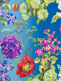 Buy Lapis, Designers Guild Alexandria Wallpaper from our Wallpaper range at John Lewis & Partners. Free Delivery on orders over Scenic Wallpaper, Damask Wallpaper, Wallpaper Panels, Green Wallpaper, Wallpaper Online, Wall Wallpaper, Wallpaper Designs, Pattern Wallpaper, Designers Guild Wallpaper