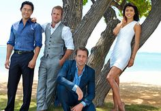 Cast of Hawaii Alex O'Loughlin, Scott Caan, Daniel Dae Kim, Grace Park Hawaii Five O, Hawaii 5 0 Cast, Alex O'loughlin, Scott Caan, Mahalo Hawaii, Terry O Quinn, Mejores Series Tv, Grace Park, Special Forces