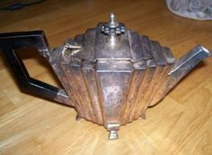 silver plated tea pot - Google Search