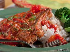 Saucy Pork Chops | mrfood.com