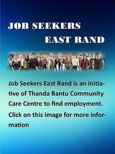 Job Seekers East Rand