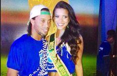 Jakelyne Oliveira, Miss Brasil-2013, la nueva novia de Ronaldinho