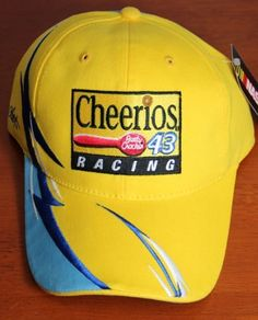 Cheerios Nascar 43 Racing Cap by Motorsport Authentics. $9.99. Officially licensed nascar product brand new never worn 100 authentic product includes all tags from manufacturer top quality