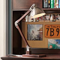 Wood Task Lamp | PBteen - Price: $1554.00 pesos