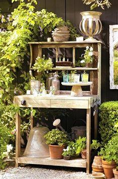 potting rack