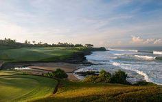Beautiful morning at Nirwana Golf Club #Bali #golf