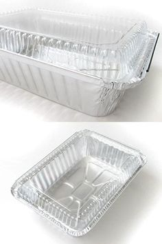 Disposable Aluminum 2 1/2 Lb. Oblong Pan with Clear Dome Lid #250P (250)