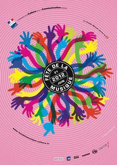 Affiche de la fête de la musique 2012, fin des rumeurs !