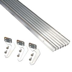 Visit The Home Depot to buy Rainhandler 5 ft. Brown Aluminum Gutter with Brackets & Screws - Value Pack of 25 ft. Diy Gutters, Copper Gutters, Steel Roof Panels, Protecting Your Home, Roof Design, Home Repairs, Wood Screws, How To Level Ground, Windows