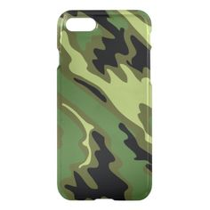 Green Military Camouflage iPhone 7 Case