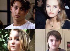 PHOTOS Lily Rose Depp et Jack, les sosies de leurs parents Johnny Depp et Vanessa Paradis