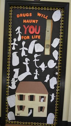 drug free week door decorating ideas - Google Search