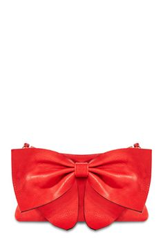 This bag isn't just Chic, it hands down the cutest clutch ever! Bow's aren't just for little girls they are for grown ladies too! #justfabonline