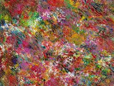 Art Print Secret Abstract Garden 8.5 X 11 Glossy by rostudios, $24.00