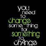 you need to change something...