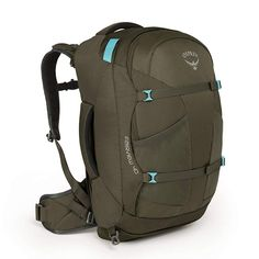 Osprey Fairview 40 Ws/wm Reisetasche grün Osprey - Carry ON Laptop Rucksack, Best Carry On Backpack, North Face Backpack, Travel Packing, Travel Bags, Travel Info, Osprey Farpoint