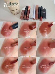 Make Up Kits, Hd Make Up, Makeup Swatches, Makeup Dupes, Skin Makeup, Makeup Cosmetics, Makeup Inspo, Makeup Inspiration, Batons Matte