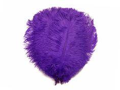"Bulk 9-13/"" OFF WHITE Ostrich Drab Wholesale Feathers 1//2 lb"