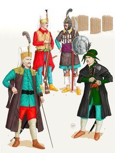 Dariusz caballeros: Bruno Mugnai's Hungarian Hussar late XVI century
