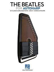 """Hal Leonard The Beatles For Autoharp Songbook  """"Softcover Width: 9.0"""""""" Length: 12.0"""""""" 64 pages ISBN: 9781458407627""""  """"Width: 9.""""""""""""  """"Length: 12.""""""""""""  64 pages  ISBN: 978145847627"""