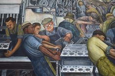 """Detroit Institute of Arts special exhibit """"Diego Rivera Frida Kahlo in Detroit"""" will open March 15 and run through July 12, 2015. Featuring nearly 70 pieces of art from both artists surrounding the time Rivera and Kahlo spent in Detroit while he painted the 'Detroit Industry' murals."""