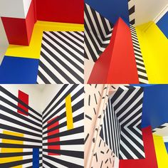 Some inspirations form London based Camille Walala Camille Walala, Three Primary Colors, Crayon Set, Memphis Design, Colour Board, Retro Aesthetic, Art Plastique, Color Theory, My Favorite Color